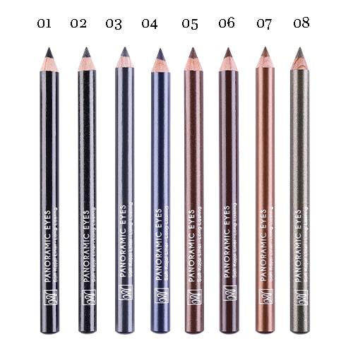 مداد چشم پانورامیک آیز بلک دایموند 8 رنگ