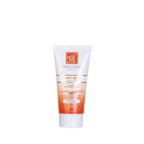 کرم ضد آفتاب فاقد چربی بی رنگ SPF30 مای