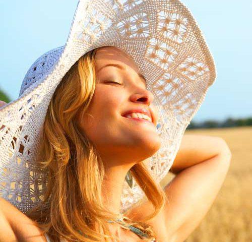 با کرم ضد آفتاب برنزه شوید