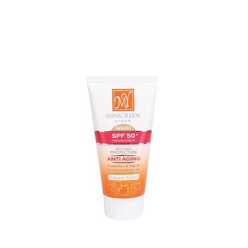 کرم ضد آفتاب رنگی طبیعی SPF 50 مای
