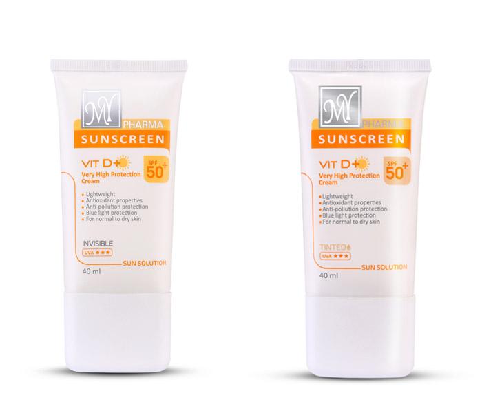 کرم ضد آفتاب مناسب انواع پوست برند مای فارما
