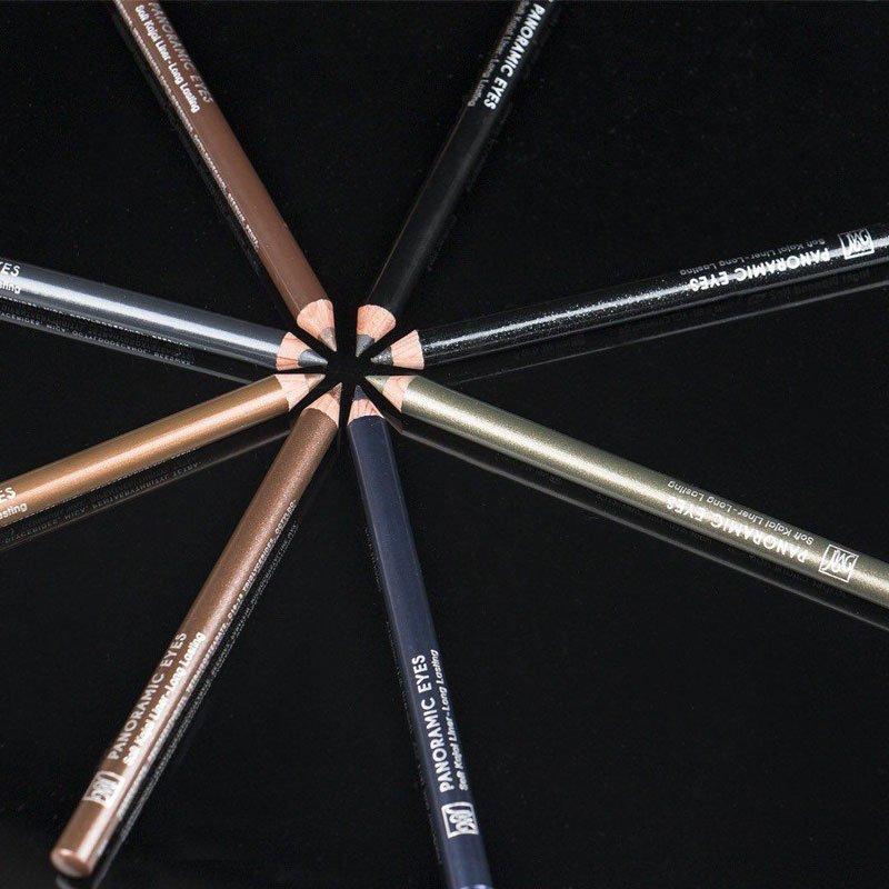انواع خط چشم مدادی رنگی