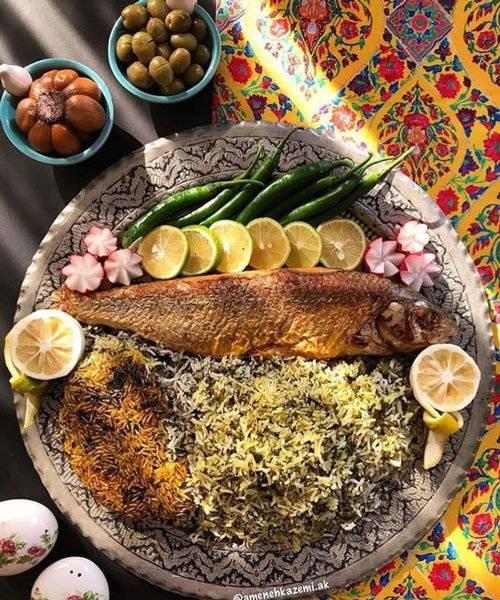 هفت سین و غذای عید نوروز