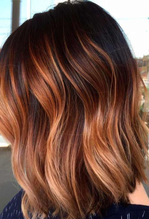 رنگ مو دخترانه آمبره