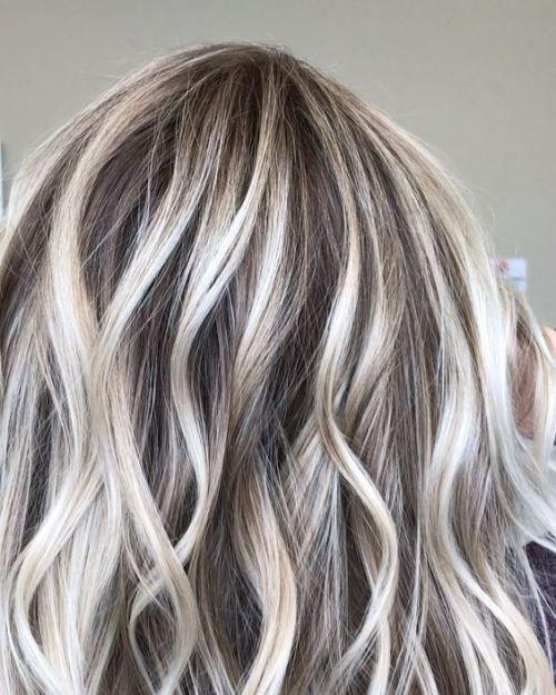 رنگ مو دخترانه بالیاژ