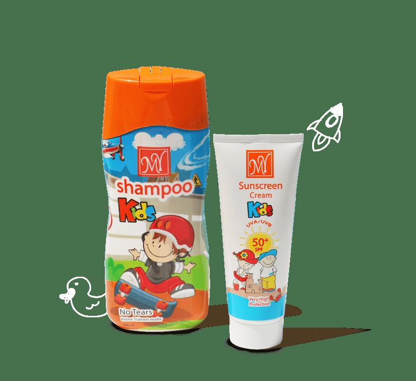 محصولات کودک مای