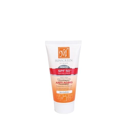 کرم ضد آفتاب بی رنگ SPF 50 مای